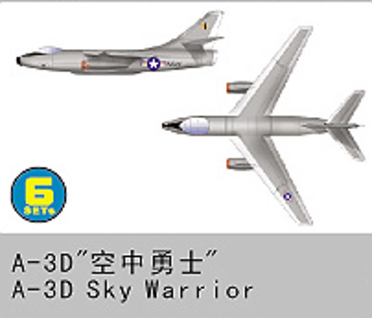 A-3 Sky Warrior - stavebnica 1:350