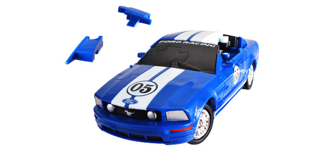 Puzzle Fun 3D Ford Mustang - standard [1:32]