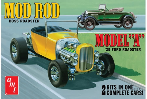 Ford model A Roadster - stavebnica [1:25]
